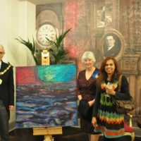 Latest Sale, Art Commissions, Mayor Charles Williams, Mayoress June Williams, Shiroma Ratne, Dive