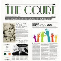 Latest Sale, Art Commissions, Press Coverage, The Court