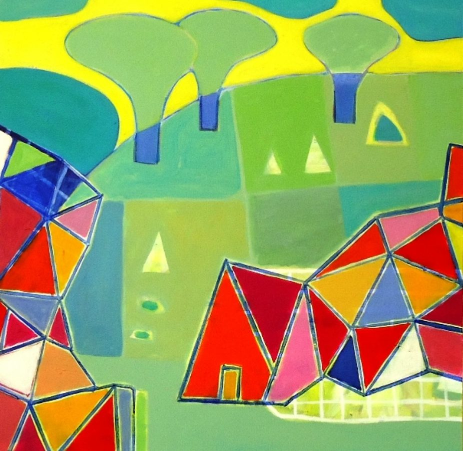 Yellow Sky, Ali Jabbar, Art Posters